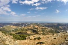 Aussicht vom Monte Tre Pizzi