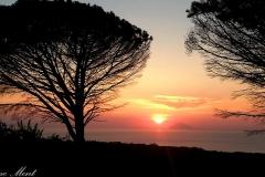 Tramonto sullo Stromboli - Sonnenuntergang mit Blick auf Stromboli