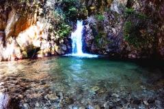 Cascata Crisafi - Crisafi-Wasserfall