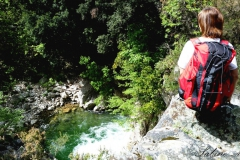 Cascata della fiumara Assi - Wasserfall der Assi-Fiumara